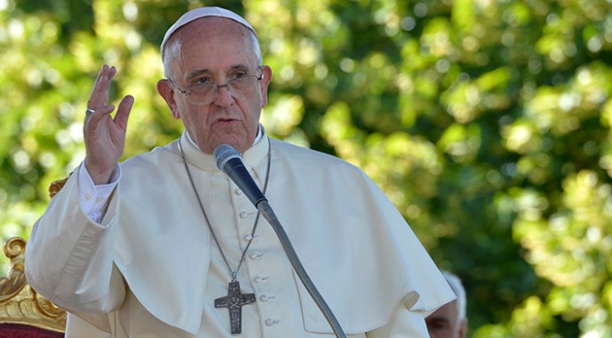 Pope Supports Mother Nature; Some Deny Authenticity
