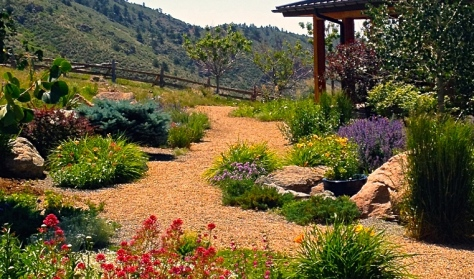 Xeriscape - photo courtesy of OutdoorCraftsmen.com