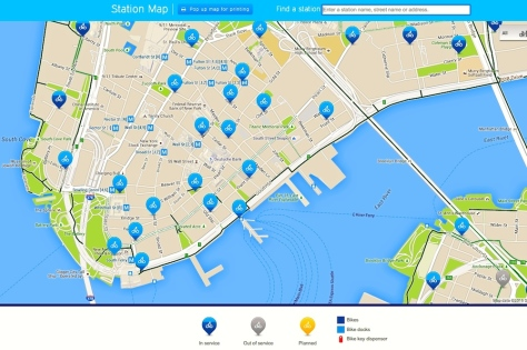 map courtesy of CitiBike